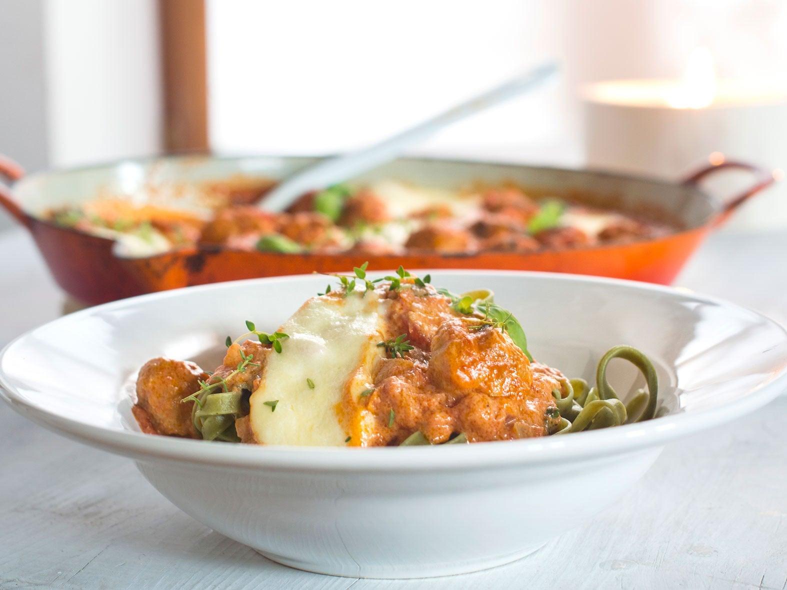 Boulettes sauce tomate