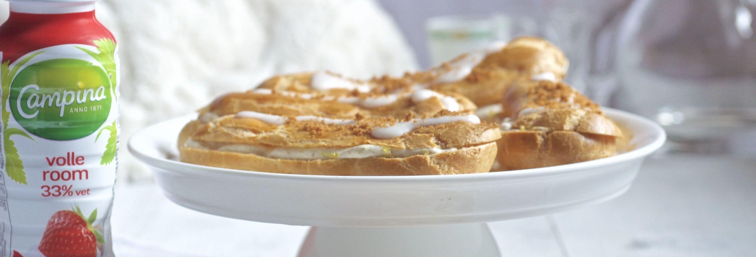 Éclair-cheesecake