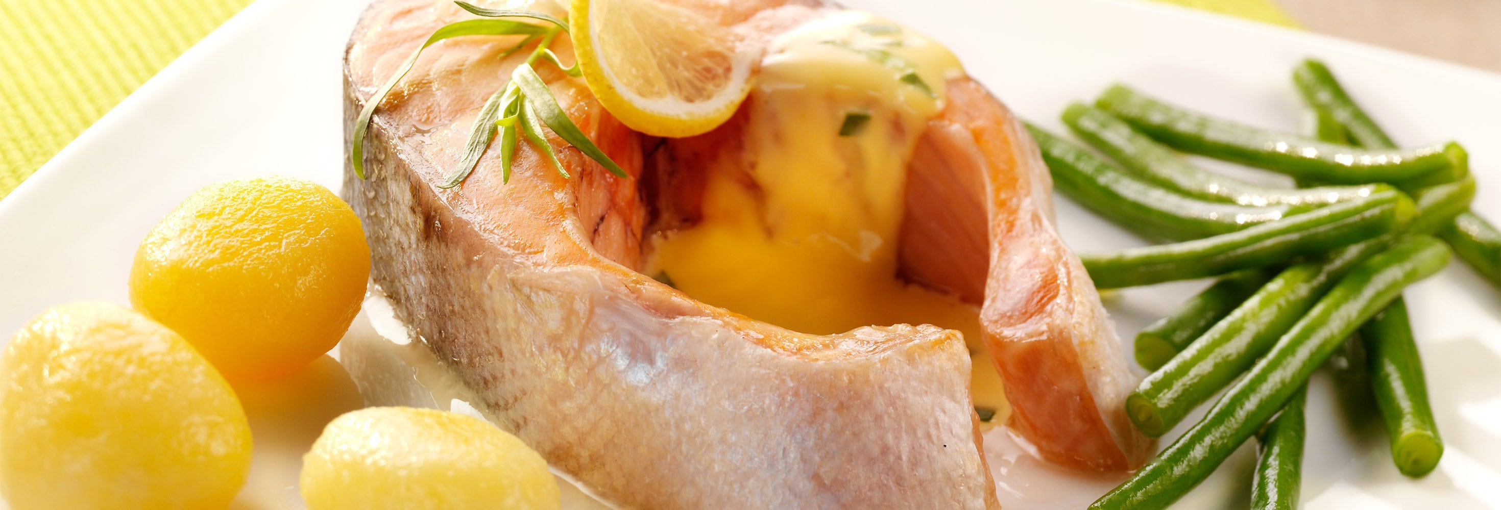 Darnes de saumon à l'estragon